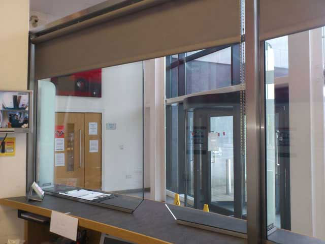 Glazed Security Screens En 1063 By Metalworx Security