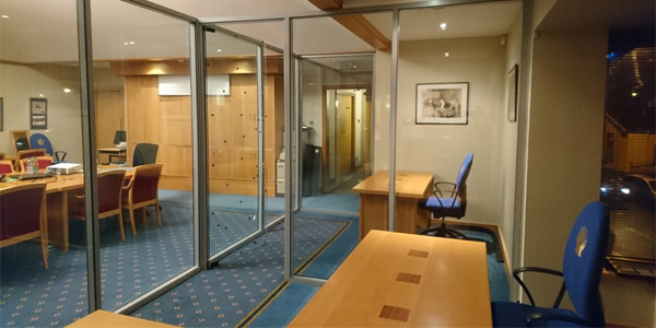 Glazed Partition Systems