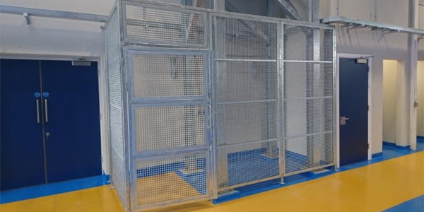 Secure Cage Units
